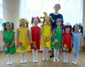 Призеры танцевального конкурса