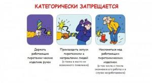 Правила пожарной безопасности в новогодние праздники.